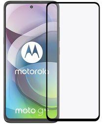 Motorola Moto G 5G Screenprotector 2.5D Arc Edge Tempered Glass Zwart