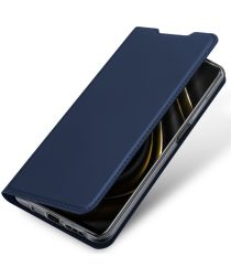 Dux Ducis Skin Pro Series Xiaomi Poco M3 Hoesje Wallet Case Blauw