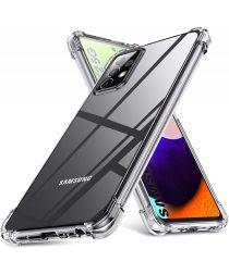 Samsung Galaxy A52 Hoesje Schokbestendig Transparant