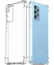 Samsung Galaxy A72 Hoesje Schokbestendig Transparant