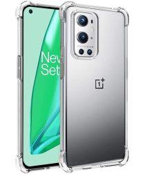 OnePlus 9 Pro Hoesje TPU Schokbestendig Back Cover Transparant