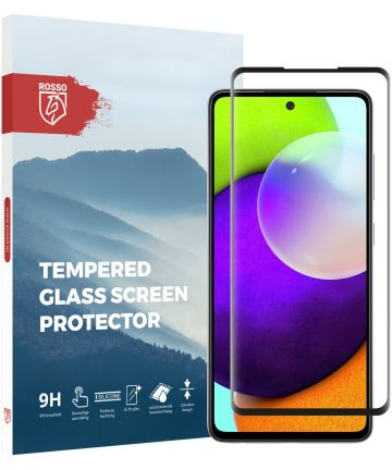 Rosso Samsung Galaxy A52 9H Tempered Glass Screen Protector Screen Protectors