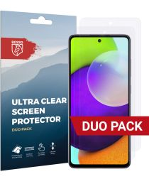 Rosso Samsung Galaxy A52 Ultra Clear Screen Protector Duo Pack