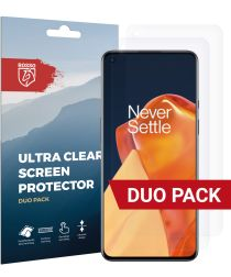 Rosso OnePlus 9 Ultra Clear Screen Protector Duo Pack