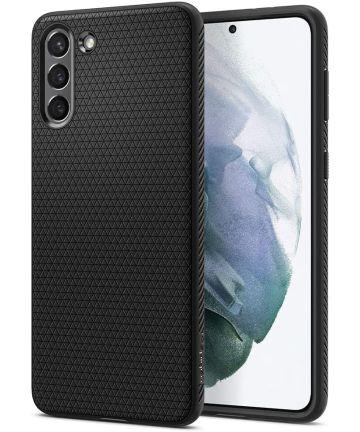Spigen Liquid Air Samsung Galaxy S21 Hoesje Zwart Hoesjes