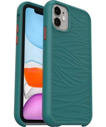 LifeProof Wake Apple iPhone 11 / XR Hoesje Back Cover Groen Hoesjes