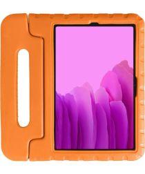 Samsung Galaxy Tab A7 2020 Kinder Tablethoes met Handvat Oranje