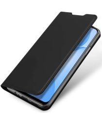 Dux Ducis Skin Pro Series Oppo A73 5G Hoesje Book Case Zwart