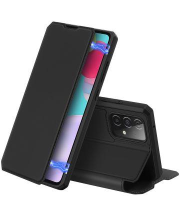 Dux Ducis Skin X Series Samsung Galaxy A52 / A52S Hoesje Book Case Zwart Hoesjes
