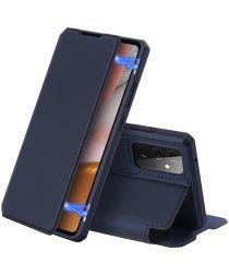 Dux Ducis Skin X Series Samsung Galaxy A72 Hoesje Book Case Blauw