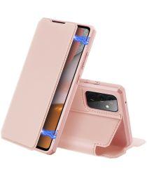 Dux Ducis Skin X Series Samsung Galaxy A72 Hoesje Book Case Roze