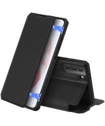 Dux Ducis Skin X Series Samsung Galaxy S21 Hoesje Book Case Zwart