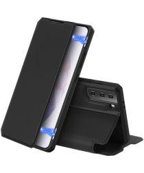 Dux Ducis Skin X Series Samsung Galaxy S21 Plus Hoesje Book Case Zwart