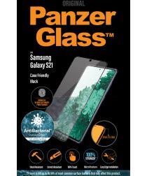 PanzerGlass Samsung Galaxy S21 Screen Protector Antibacterieel Zwart