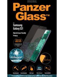 PanzerGlass Samsung Galaxy S21 Screenprotector Privacy Glass Zwart