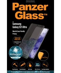 PanzerGlass Samsung Galaxy S21 Ultra Screenprotector Privacy Glass