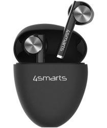 4smarts TWS Bluetooth In-Ear Draadloze Oordopjes Zwart