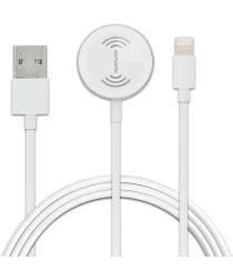 4smarts Voltbeam Apple Watch Oplader en Lightning Kabel 1.6 Meter