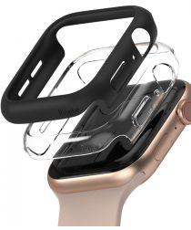 Ringke Slim Apple Watch 40MM Hoesje Dun Transparant en Zwart (2-Pack)