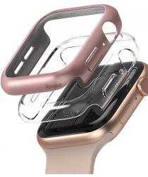 Ringke Slim Apple Watch 40MM Hoesje Dun Transparant en Roze (2-Pack)