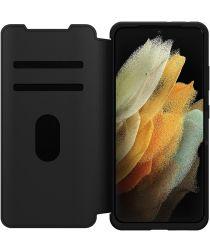 Otterbox Strada Serie Samsung Galaxy S21 Ultra Book Case Zwart