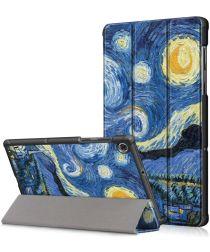 Lenovo Tab M10 HD Gen 2 Hoesje Tri-Fold Book Case Oil Painting