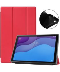 Lenovo Tab M10 HD Gen 2 Hoesje Tri-Fold Book Case Red