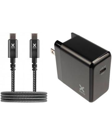 Xtorm Volt Reislader 65W USB-C PD 3.0 Laptop Oplader + USB-C Kabel 2M Opladers