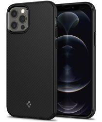 Spigen Mag Armor iPhone 12 / 12 Pro Hoesje voor Apple MagSafe Zwart