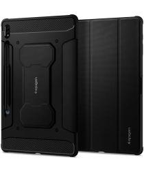 Spigen Rugged Armor Pro Samsung Galaxy Tab S7 Plus Hoes Zwart