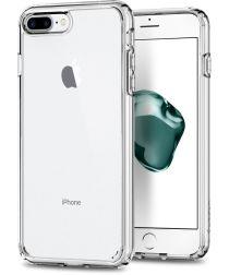 Spigen Ultra Hybrid 2 Apple iPhone 7 Plus / 8 Plus Hoesje Transparant