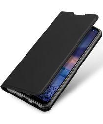 Dux Ducis Skin Pro Series Nokia 5.4 Hoesje Wallet Case Zwart