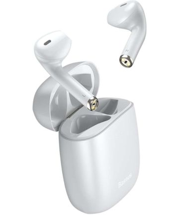 Baseus Encok TWS W04 Draadloze Bluetooth Oordopjes Wit Headsets