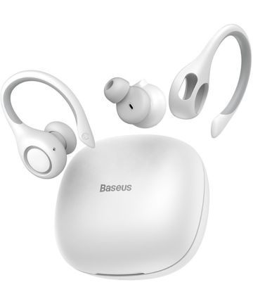 Baseus Encok W17 TWS Draadloze Bluetooth Oordopjes Wit Headsets