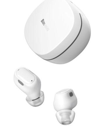 Baseus Encok WM01 TWS Draadloze Bluetooth Oordopjes Wit Headsets