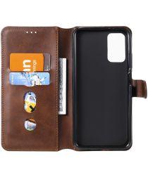 Xiaomi Poco M3 / Redmi 9T Hoesje Portemonnee Book Case Bruin
