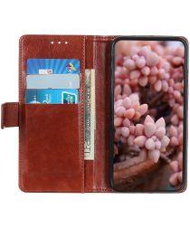 Nokia 5.4 Hoesje Wallet Book Case met Pasjes Bruin