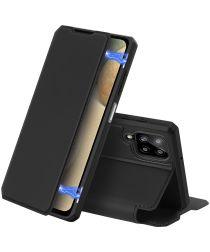 Dux Ducis Skin X Series Samsung Galaxy A12 Hoesje Book Case Zwart