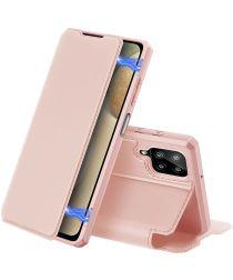 Dux Ducis Skin X Series Samsung Galaxy A12 Hoesje Book Case Roze