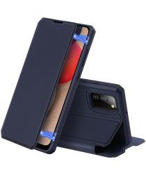 Dux Ducis Skin X Series Samsung Galaxy A02s Hoesje Book Case Blauw
