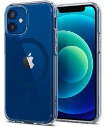 Spigen Ultra Hybrid iPhone 12 Mini Hoesje MagSafe Transparant/Blauw