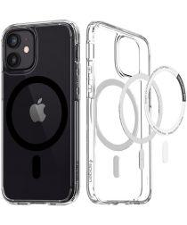 Spigen Ultra Hybrid iPhone 12/12 Pro Hoesje MagSafe Transparant/Zwart