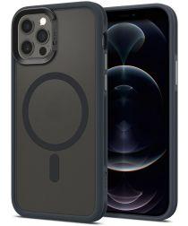 Spigen Ciel by Cyrill Color Brick iPhone 12/12 Pro Case MagSafe Grijs