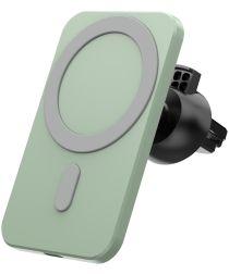 Telefoonhouder Ventilatierooster / Dashboard voor MagSafe 15W Groen