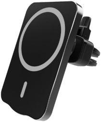 Telefoon Houder Ventilatierooster voor MagSafe met 15W Opladen Zwart