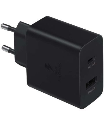 Originele Samsung USB-C / USB-A Power Adapter Fast Charge Oplader 35W Opladers
