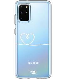 HappyCase Galaxy S20 FE Hoesje Flexibel TPU Hartje Print