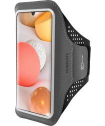 Mobiparts Comfort Fit Sport Armband Samsung Galaxy A42 Zwart