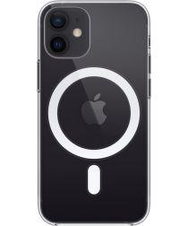 Apple iPhone 12 Mini Hoesje voor MagSafe Dun TPU Transparant