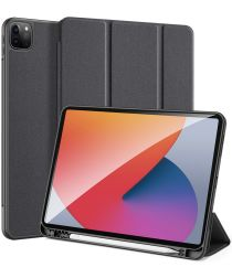Dux Ducis Domo Apple iPad Pro 12.9 2021 Hoes Tri-Fold Book Case Zwart
